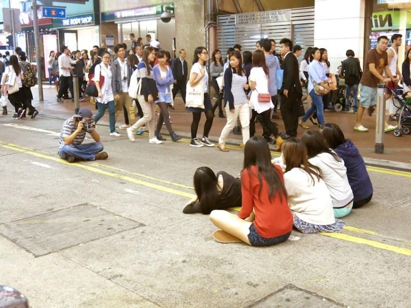 Causeway Bay Street Photographer