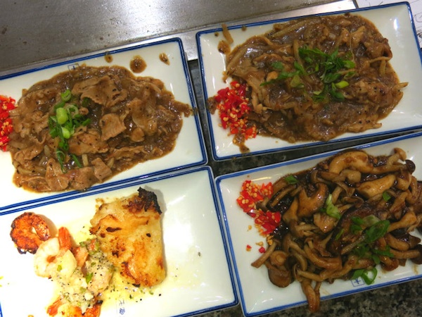 Heniu Teppanyaki Deluxe  Set at Wisma Atria Food Republic