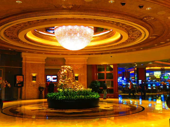 Horse Statue at MGM Macau
