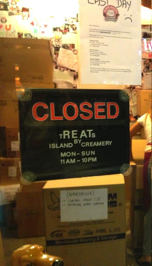 Island Creamery closing down in King Albert Park (KAP)
