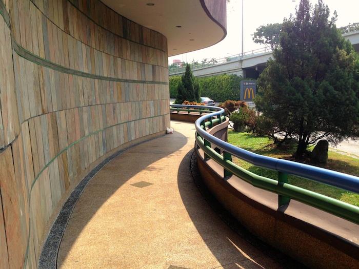 External portion of King Albert Park (KAP)