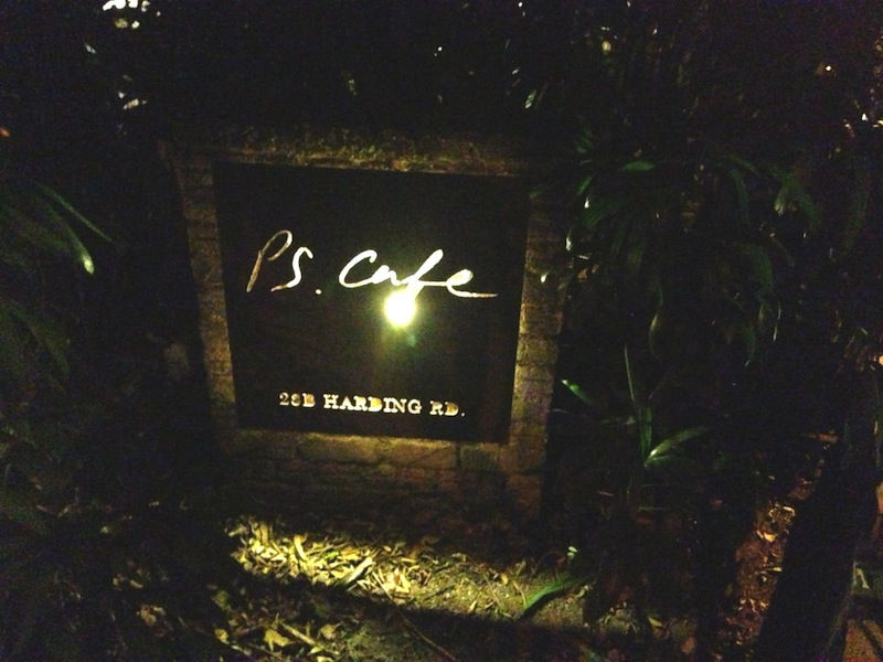 PS. Cafe Signage at Dempsey Hill, Harding Road