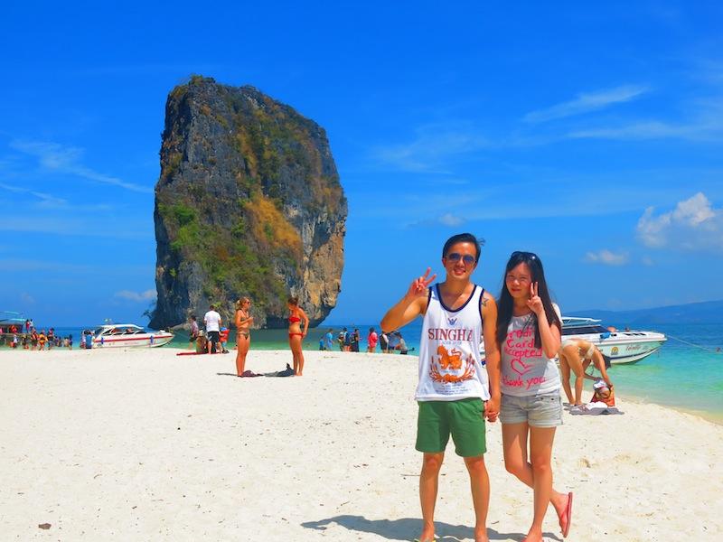 Koh Poda Island Beach
