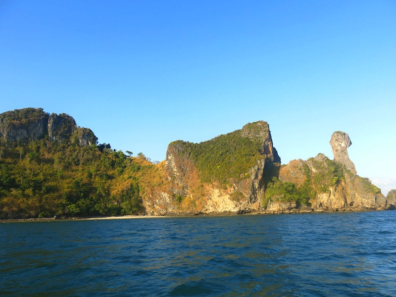Visiting Chicken Island with Krabi Sunset Cruises