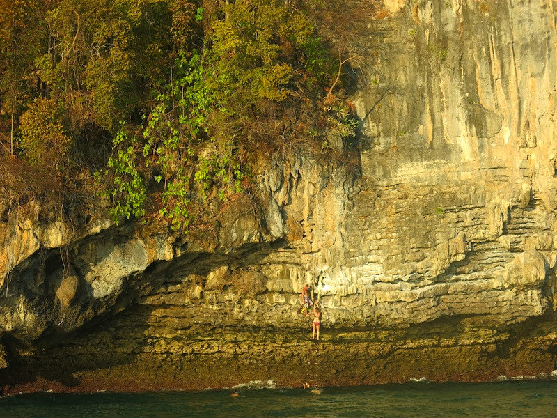 Cliff Climbing with Krabi Sunset Cruises