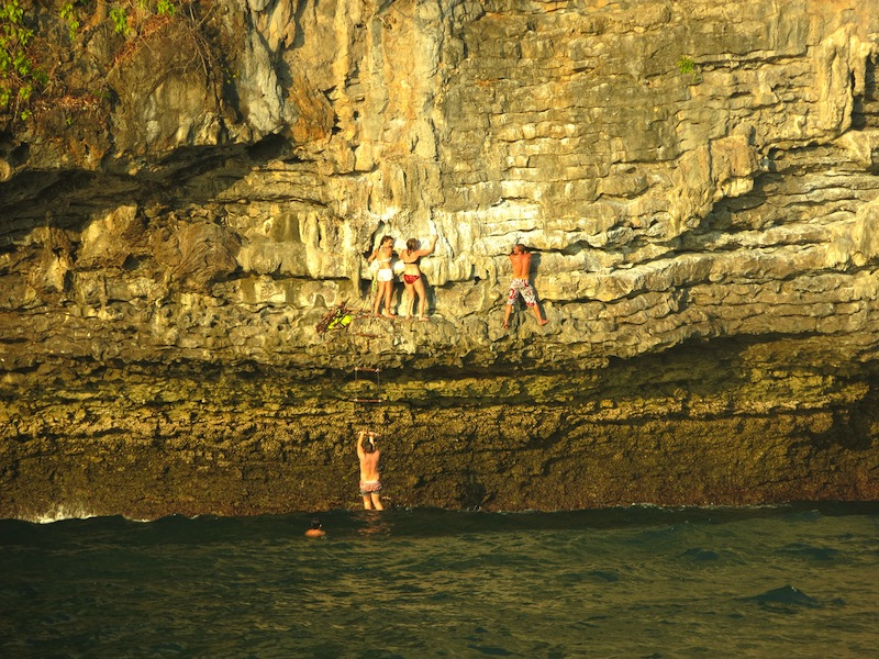 Rock Climbing with Krabi Sunset Cruises