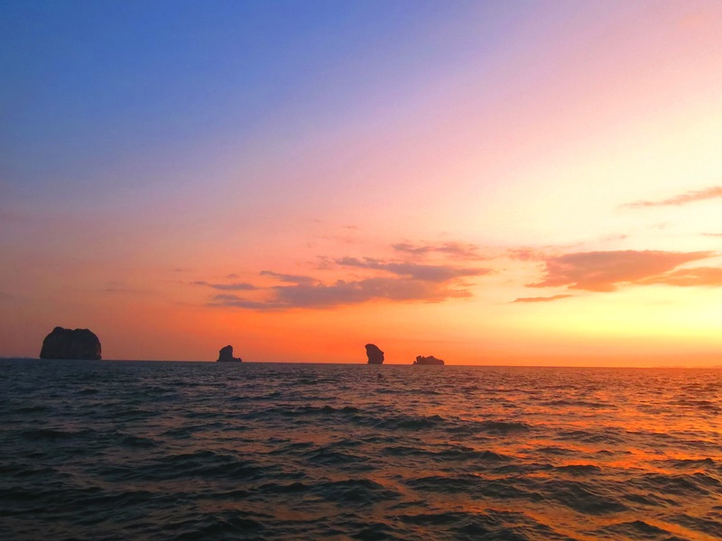 Krabi Sunset Cruises Beautiful Sunset