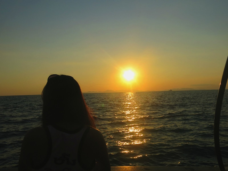 Beautiful Sunset with Krabi Sunset Cruises