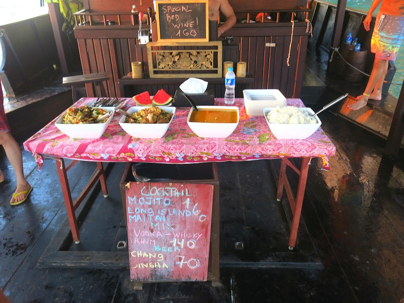 Krabi Sunset Cruises, Thai Style Buffet Dinner