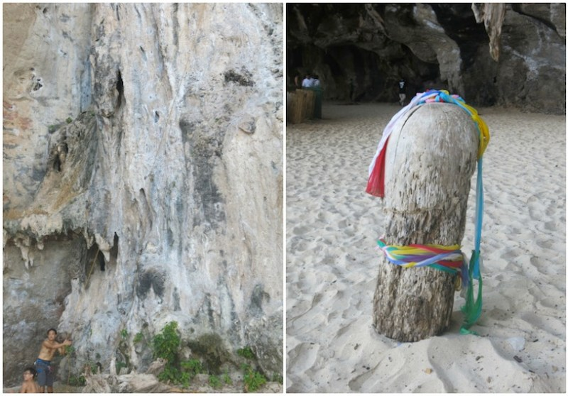 Phra Nang Cave and Rock Climbing