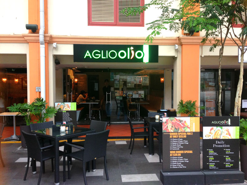 Aglio Olio at China Square Central (Singapore)