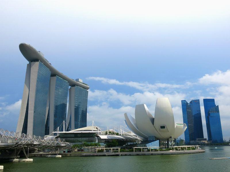 ArtScience Museum in Singapore