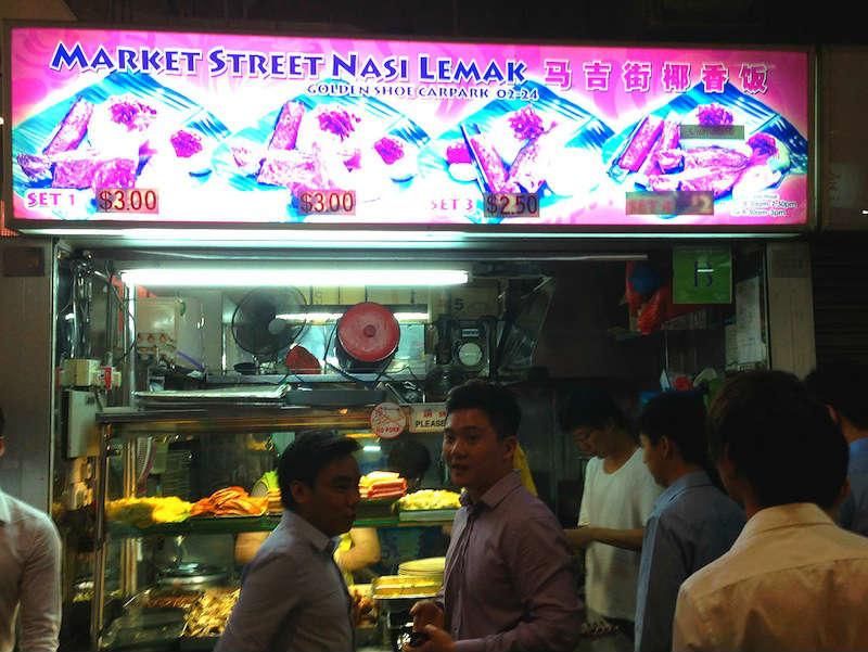Golden Shoe Market Street Nasi Lemak