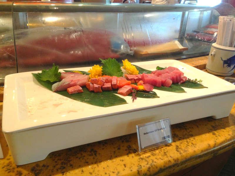 Town Restaurant Fullerton Hotel Japanese Food
