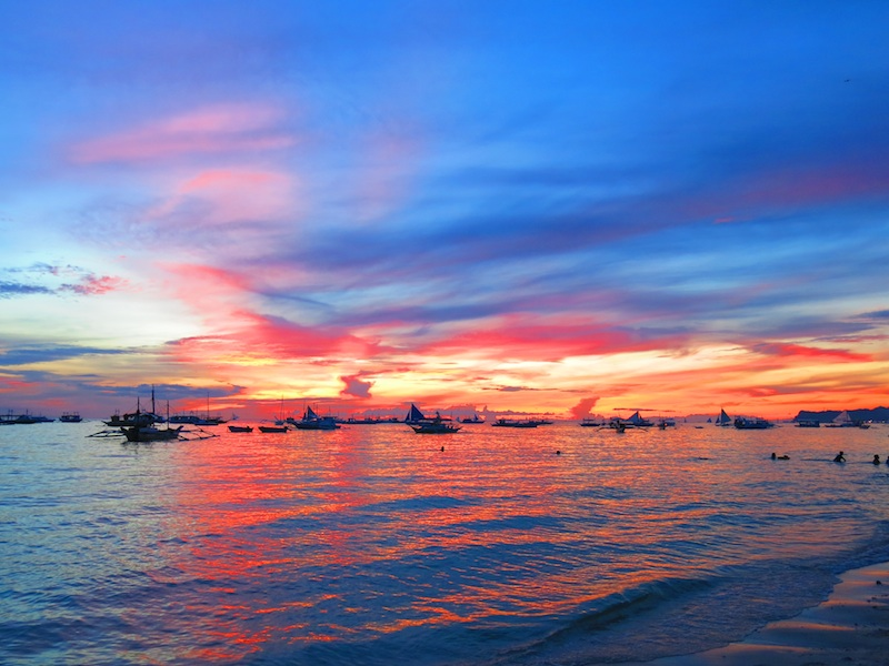 Boracay Beautiful Sunset