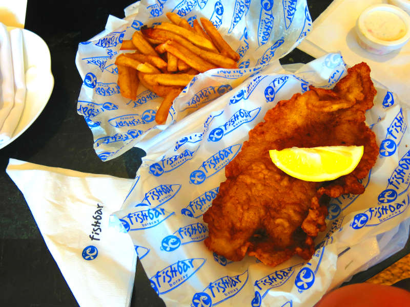 Boracay Fishbar Fish and Chips