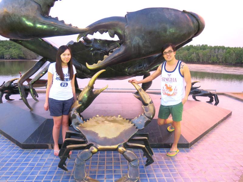 Krabi Town Crabs Statue