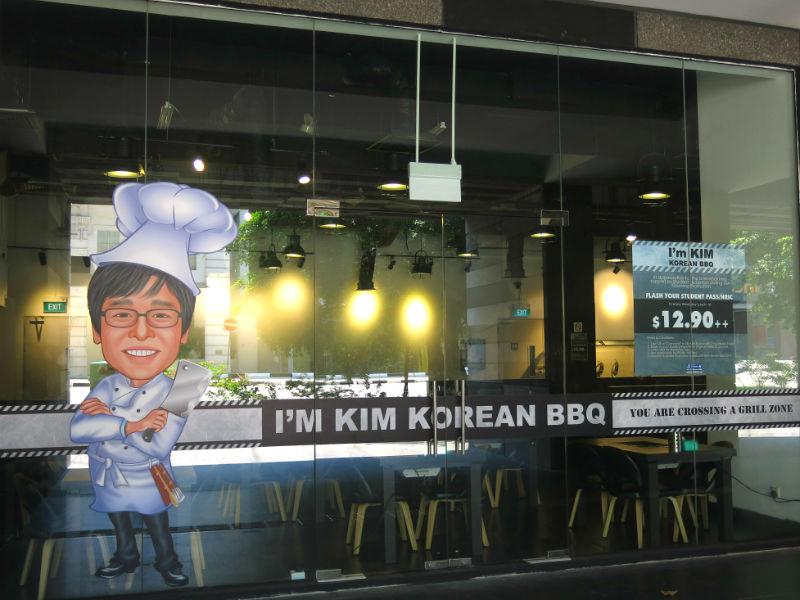I'm KIM Korean BBQ SG