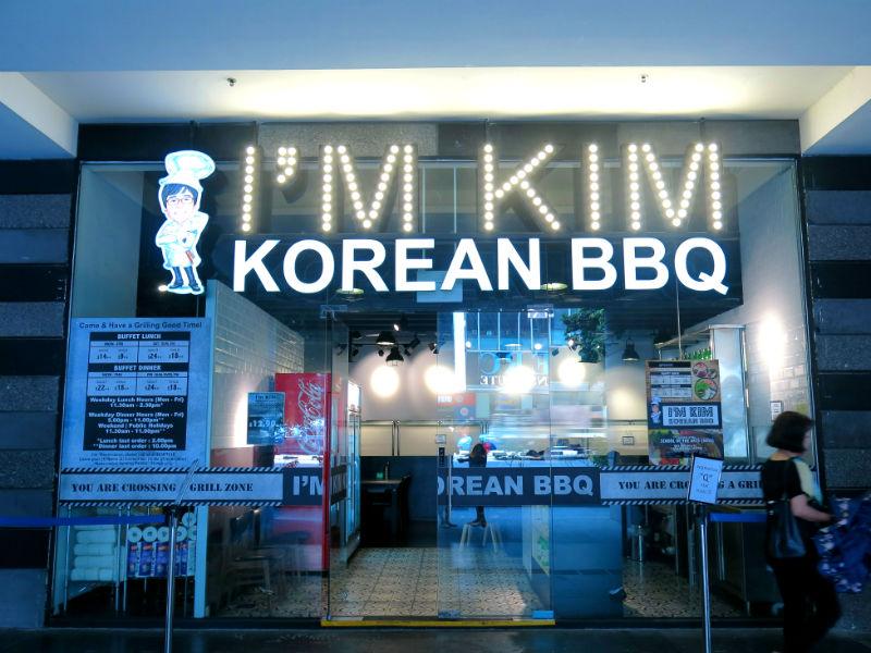 I'm KIM Korean BBQ Singapore