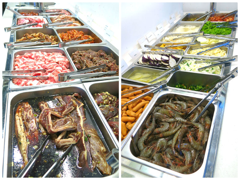 Im kim Korean BBQ food