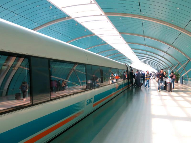 Shanghai Maglev Airport Station 1