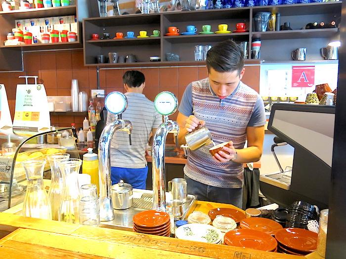 Barista at Tolido's Espresso Nook