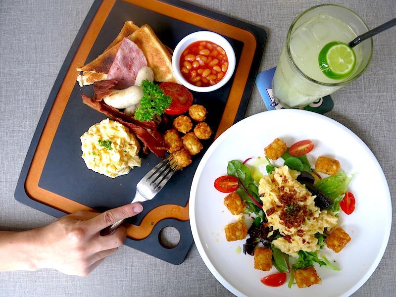 The Sandbank Singapore Breakfast