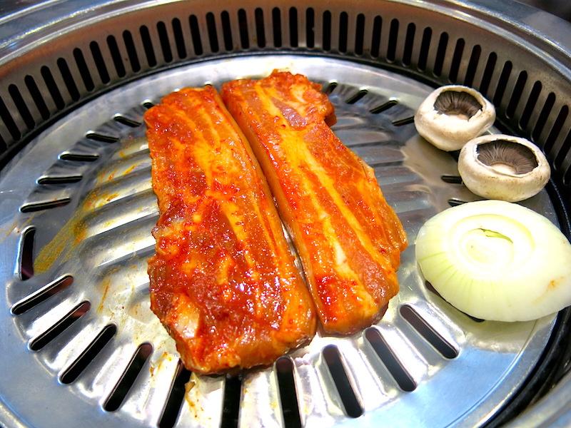 Jang Shou Korean BBQ - Pork Belly