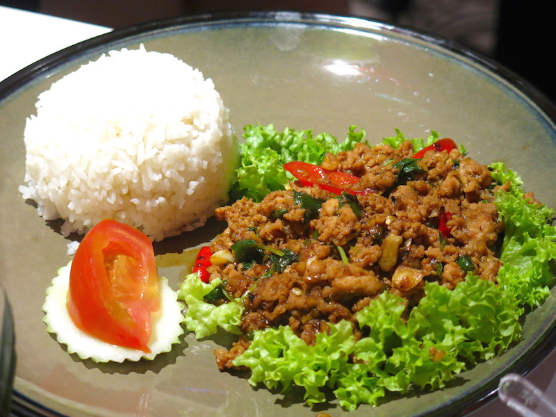 Kaffir & Lime Singapore - Thai Basil Minced Chicken