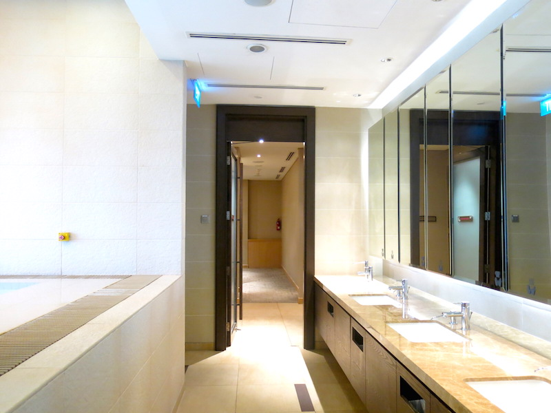 Hotel Jen Tanglin Changing Room