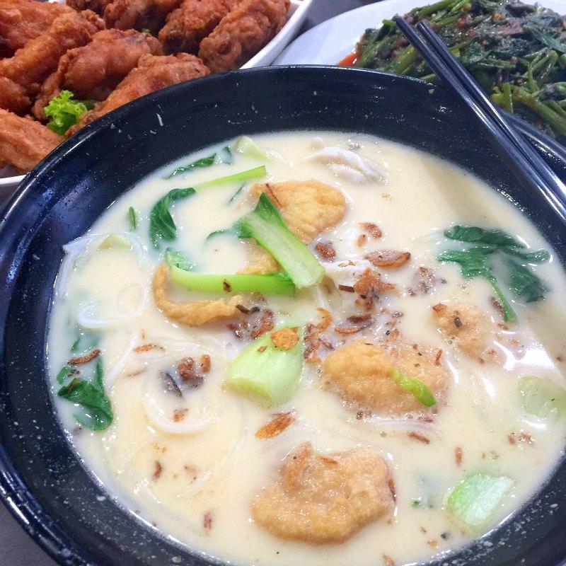 Xin yuan ji tan quee lan st bugis delicious fish for How long to air fry fish