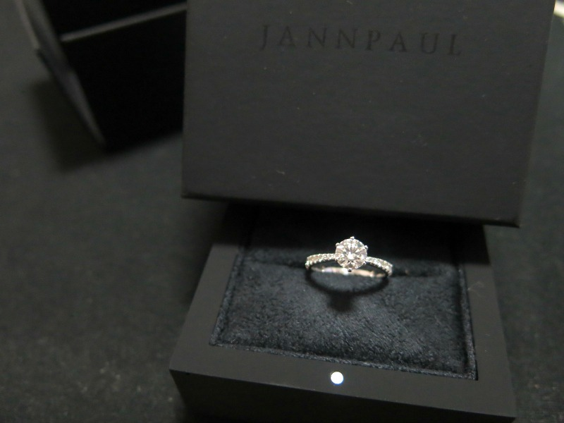 Jann Paul 0.75ct Diamond Ring