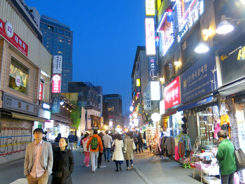 Clothing Stores at Insadong
