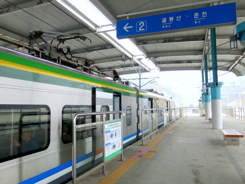 ITX-Cheongchun Train exterior