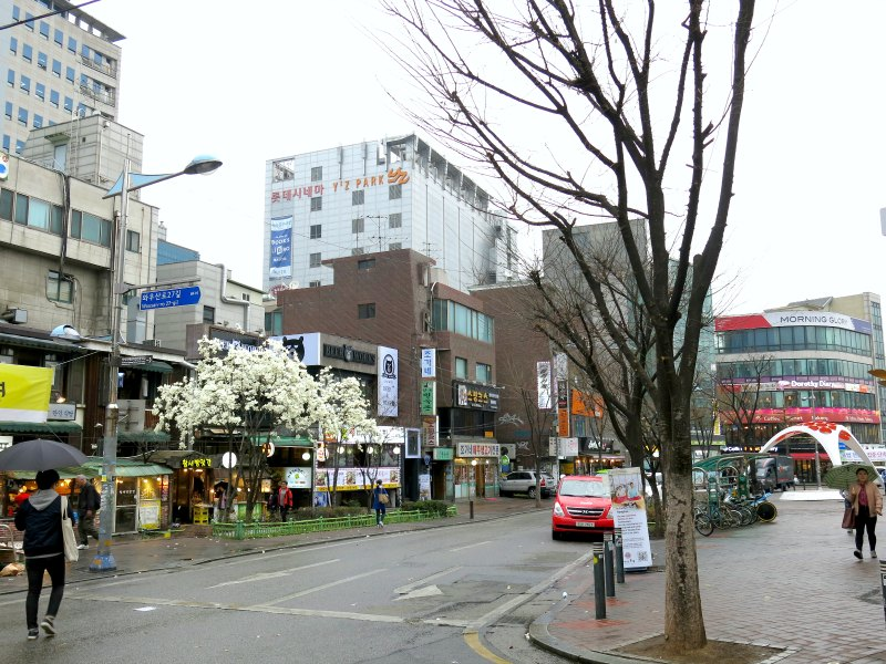 Hongdae Shopping District