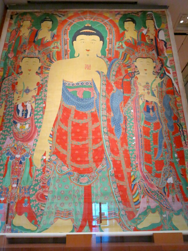 Buddhist Hanging Scroll at Gaeamsa Temple