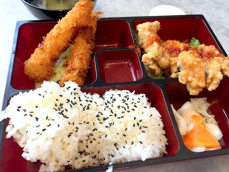 Chicken Cutlet + Ebi Tempura Set