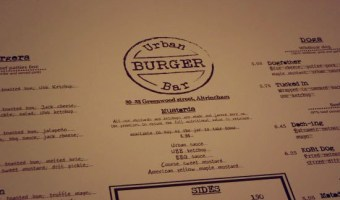 Urban Burger Altrincham – Food Review