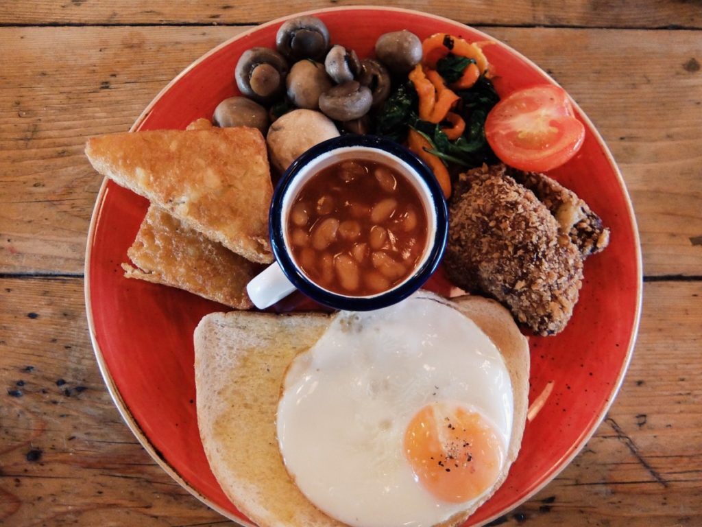 Veggie Breakfast from Unico Lounge Wilmslow