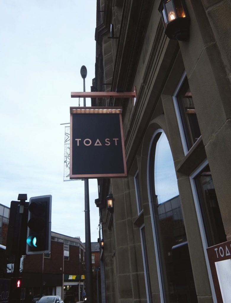 Outside at Toast