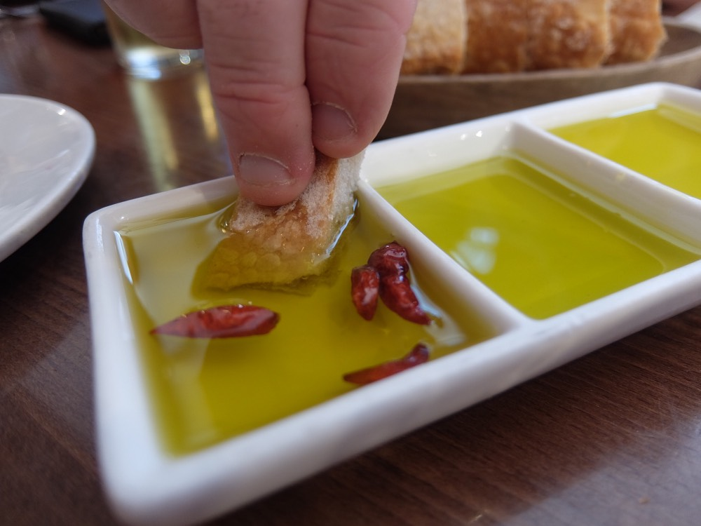 Selection of Olive Dips