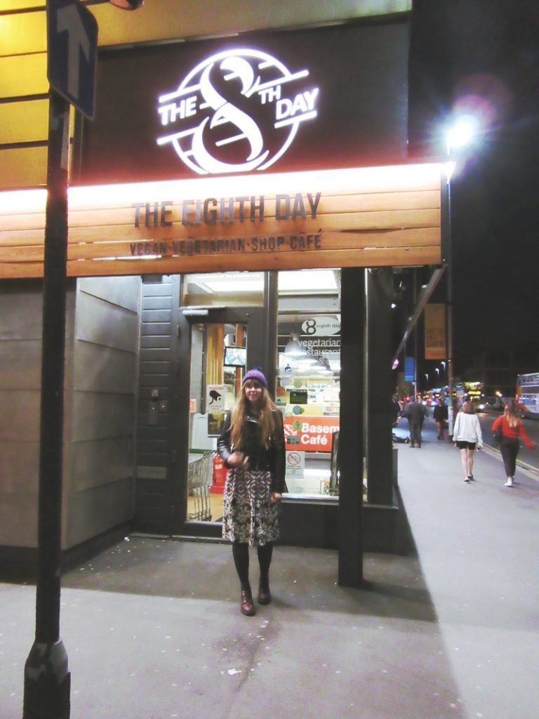 Outside The Eight Day Cafe Supper Club