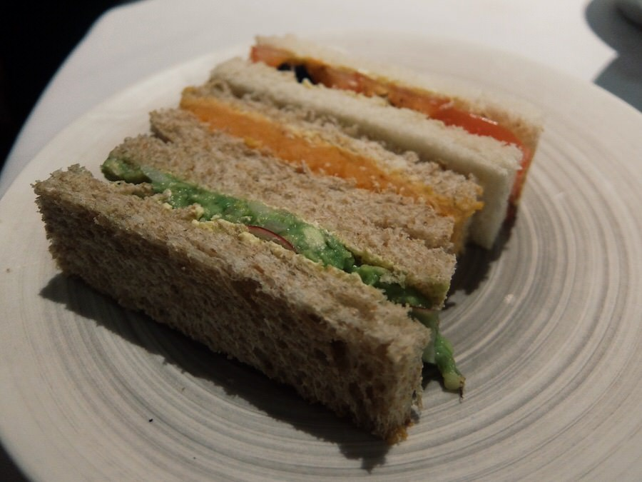 A shot of the Sandwiches
