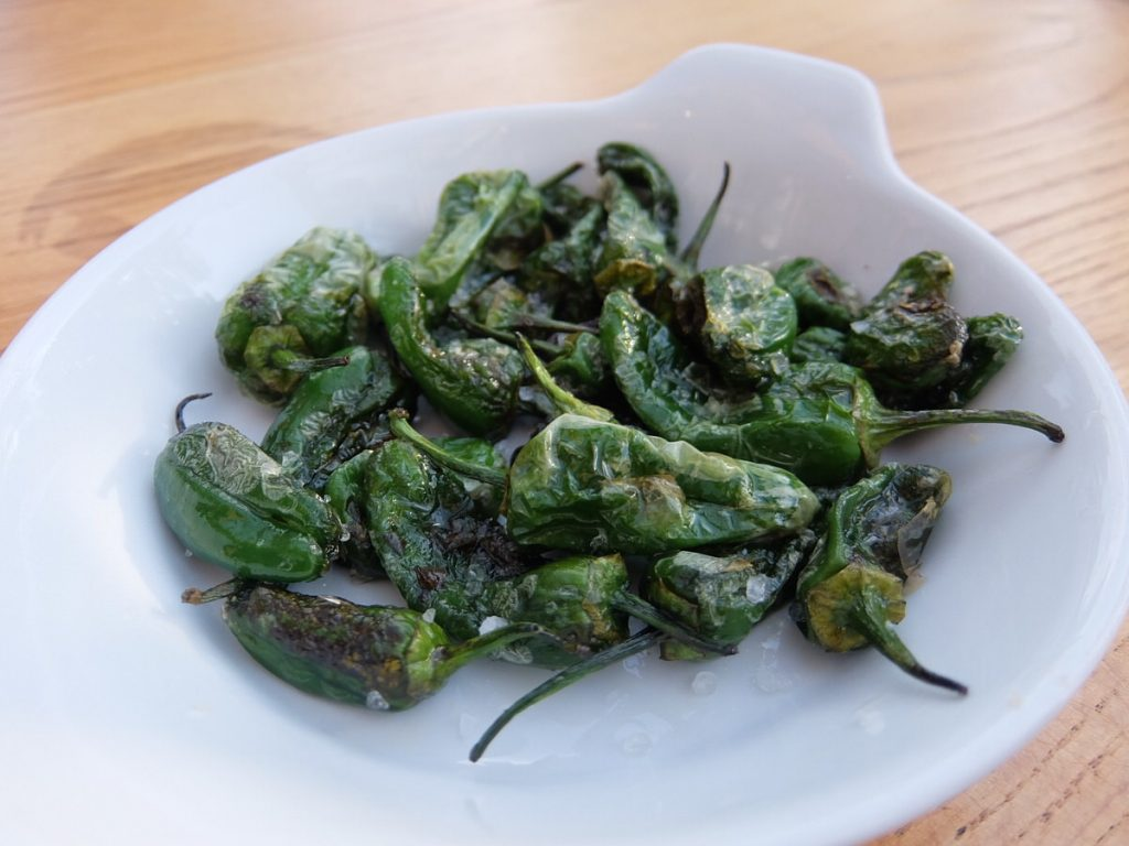 pimiento de padron - Padrón peppers