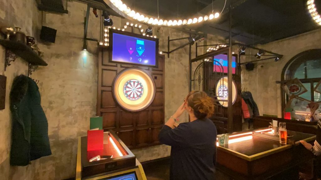 Step up to the Oche
