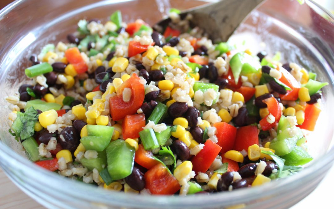 Southwest Barley Salad
