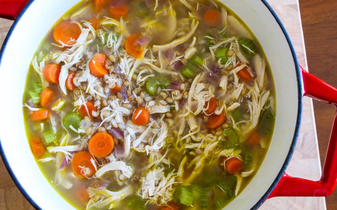 Turkey Barley Soup