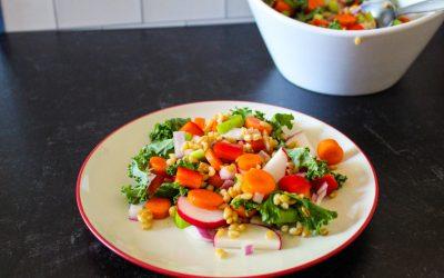 Barley Chop Salad