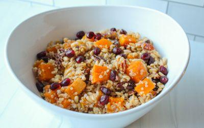 Barley & Quinoa Butternut Squash Salad