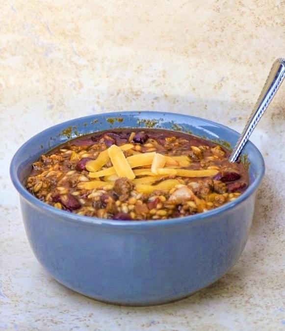 Beef & Barley Casserole Chili